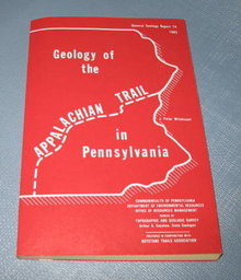 Geology of the Appalachian Trail in Pennsylvania by J. Peter Wilshusen