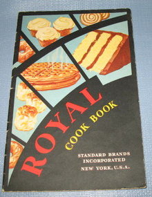 Royal Cook Book from Standard Brands