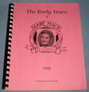 The Early Years of Mary Mac's TeaTimes 1992