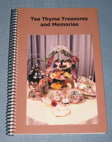 Tea Thyme Treasures and Memories by Bonnie Porro and Maria Rivera
