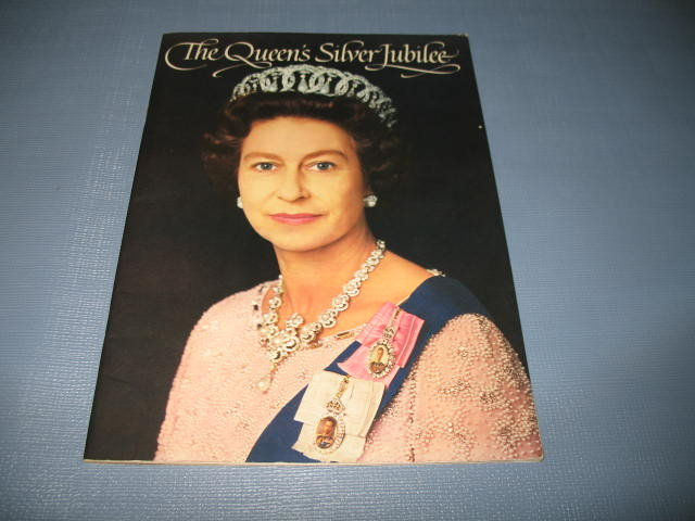 The Queen's Silver Jubilee pictorial souvenir book