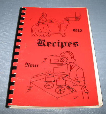 Recipes complied by the Heart to Heart Class of the Hopewell and Valparaiso Mennonite Churches