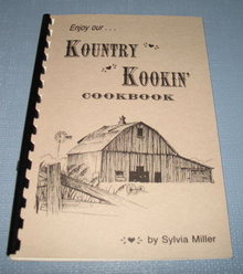 Enjoy Our Kountry Kookin' Cookbook by Sylvia Miller