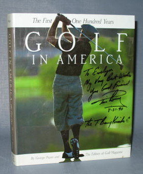 Golf in America : The First One Hundred Years by George Peper, general editor