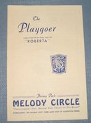 Roberta  at Dorney Park Melody Circle playbill