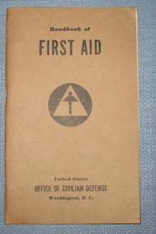 Handbook of First Aid from Office of Civilian Defense