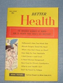 Better Health magazine, Fall 1952