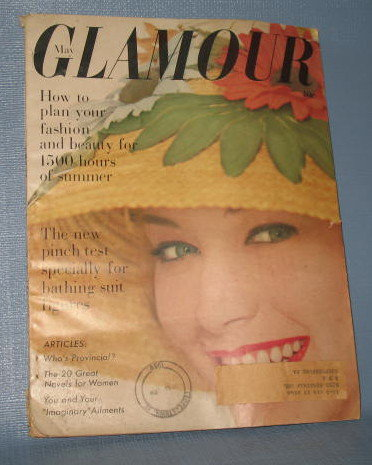 Glamour magazine, May 1959