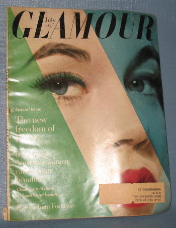 Glamour magazine, July 1959
