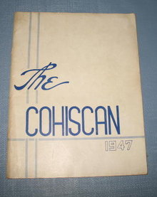 The 1947 Cohiscan (Coopersburg PA High School) yearbook