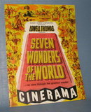Seven Wonders of the World movie booklet