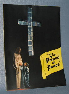 The Prince of Peace movie booklet