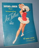Ice Follies of 1952 souvenir booklet