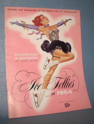 Ice Follies of 1954 souvenir booklet