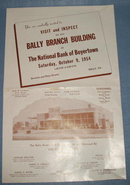 Bally Branch of National Bank of Boyertown opening broadside