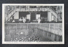 Assembly - For Laughter, Song and Story Hour, Forest Acres, Camp for Girls, Fryeburg ME  postcard