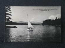Lake Kezar, Severance Lodge Point, Speckled Mtn. Center Lovell ME