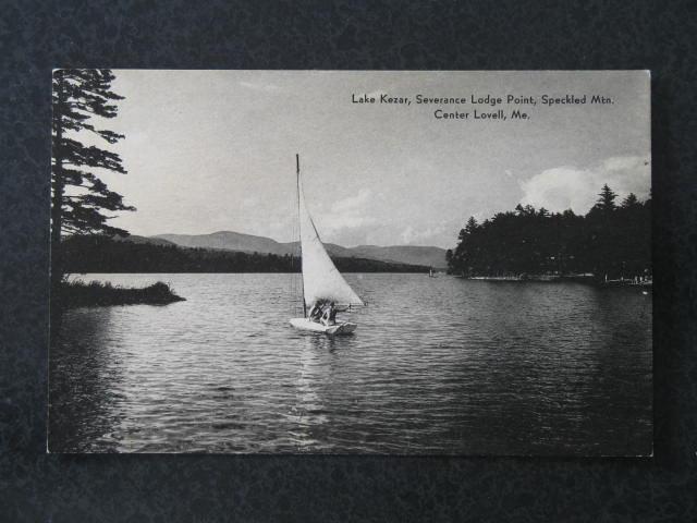 Lake Kezar, Severance Lodge Point, Speckled Mtn. Center Lovell ME