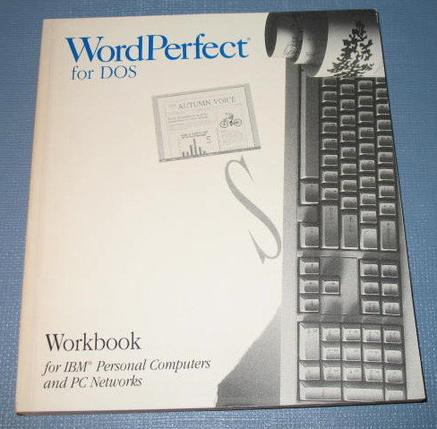 WordPerfect for DOS Version 5.1