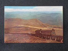 Cog Railway, Mt. Washington, NH postcard