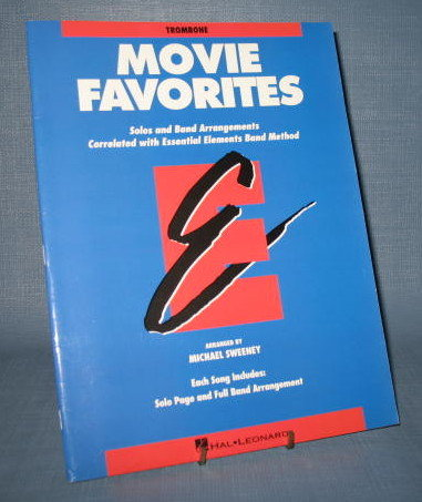 Movie Favorites - Trombone arranged by Michael Sweeney