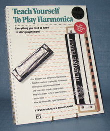 Teach Yourself How to Play the Harmonica by Steve Manus and Ron Manus
