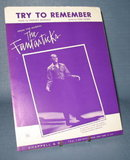 Harry Belafonte : Try to Remember sheet music