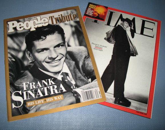 People Magazine, and Time Magazine : Sinatra
