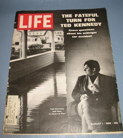 August 1, 1969 LIFE magazine - Ted Kennedy