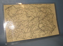 Historic Indian Paths of Pennsylvania map