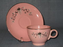 Taylor, Smith, Taylor Dwarf Pine cup and saucer