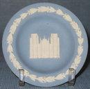 Wedgwood blue jasperware cup plate