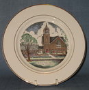 St. Paul's Lutheran Church, Red Hill PA collector's plate