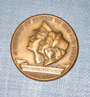 Salvation Army Century of Service to God and Man 1865-1965 bronze medallion