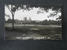 Duke University, Durham NC postcard