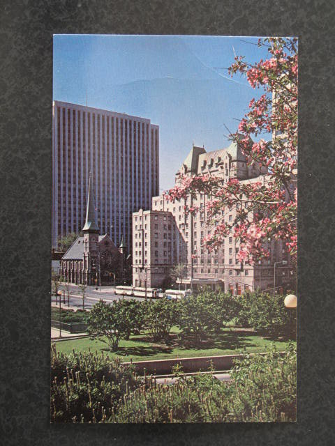 Lord Elgin Hotel, Ottawa, Canada postcard