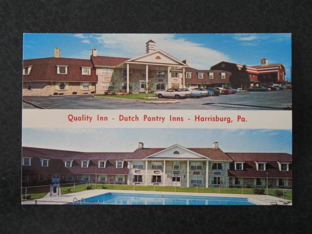 Quality Inn - Dutch Pantry Inns, Harrisburg PA postcard