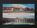 Quality Inn - Dutch Pantry Inns, Harrisburg PA postcard