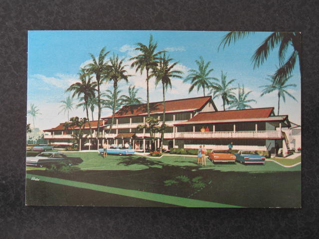 Islander Inns, Hawaii postcard