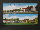 Smith's Ranch Motel & Restaurant, Greensboro NC postcard