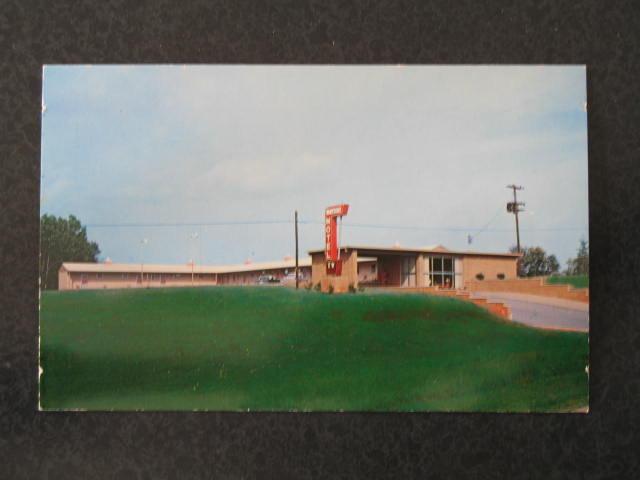 Brand New Wayside Motel, Rocky Mount VA postcard