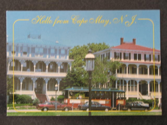 Hello from Cape May, NJ postcard