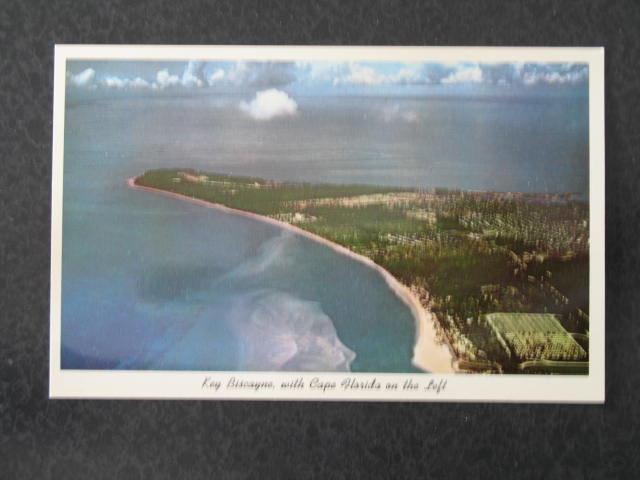 Key Biscayne, FL  postcard