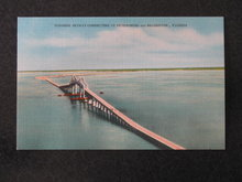 Sunshine Skyway Connecting St. Petersburg and Bradenton, FL  postcard