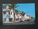 Lido Pools and Shopping Center Facing the Ocean Beaches, Palm Beach, Florida postcard