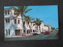 Lido Pools and Shopping Center Facing the Ocean Beaches, Palm Beach, Florida postcard