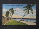 Popular Palm Beach Pier on the Atlantic Ocean, Palm Beach, Florida postcard
