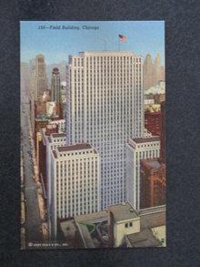 Field Building, Chicago, IL postcard