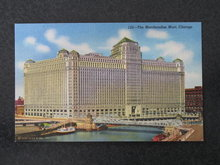 Merchandise Mart, Chicago, IL postcard