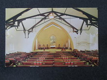 Trinity United Church of Christ, Berlin PA postcard